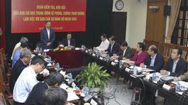 Ông Tô Lâm: Cần kiểm tra đột xuất ở nơi nguy cơ tham nhũng cao