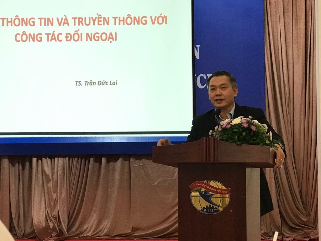 Tập huấn nghiệp vụ tuyên truyền thông tin đối ngoại Việt Nam - Campuchia