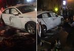Hà Nội: 2 xe máy đâm thẳng Audi, cô gái chết tại chỗ