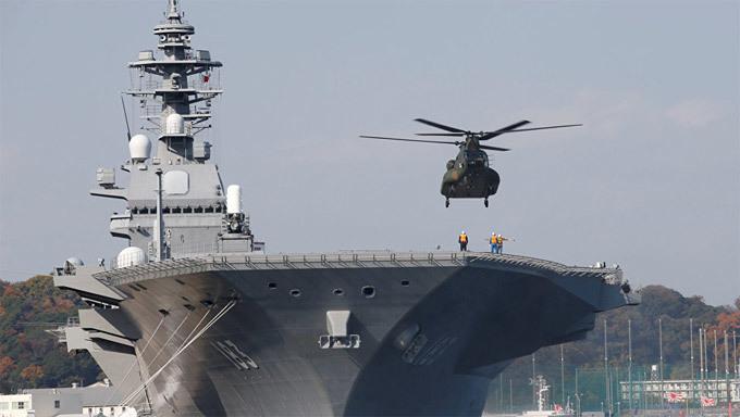 Nhật,Trung Quốc,F-35,siêu tiêm kích,tàu sân bay