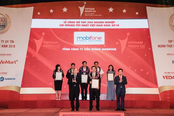 MobiFone vào top 20 DN lợi nhuận lớn nhất năm 2018
