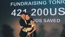 Ngô Thanh Vân gom gần 10 tỷ cứu trẻ em bị bệnh