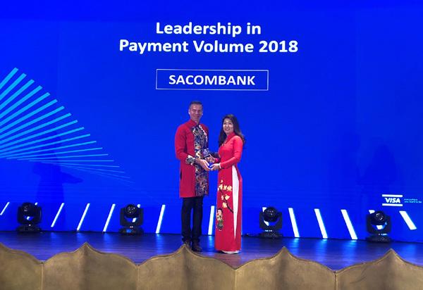 Sacombank nhận giải thưởng quốc tế về hoạt động thẻ