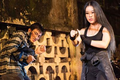 Hoa Trần, vợ Việt Hoàn biến hóa với vai nữ quái giang hồ