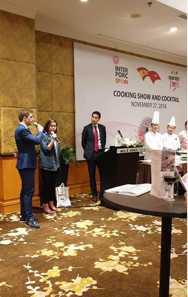 Thị trường Việt đón thịt heo trắng Tây Ban Nha