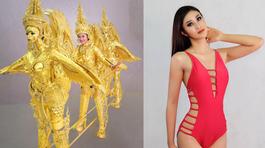 Choáng với trang phục dân tộc của mỹ nhân Lào tại Hoa hậu Hoàn vũ