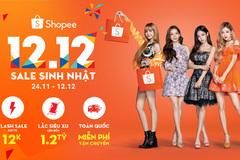 Giảm giá đến 95% tại sự kiện sinh nhật Shopee 12.12