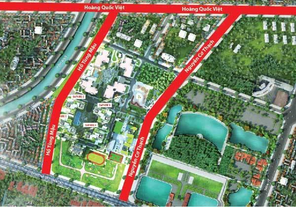 Đường Nguyễn Cơ Thạch sắp thông tuyến trong tháng 12