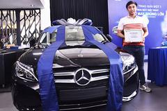 Electrolux trao chiếc ô tô Mercedes-Benz C200 đầu tiên