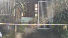 Thi thể người đàn ông cháy đen trước nhà sau tiếng nổ