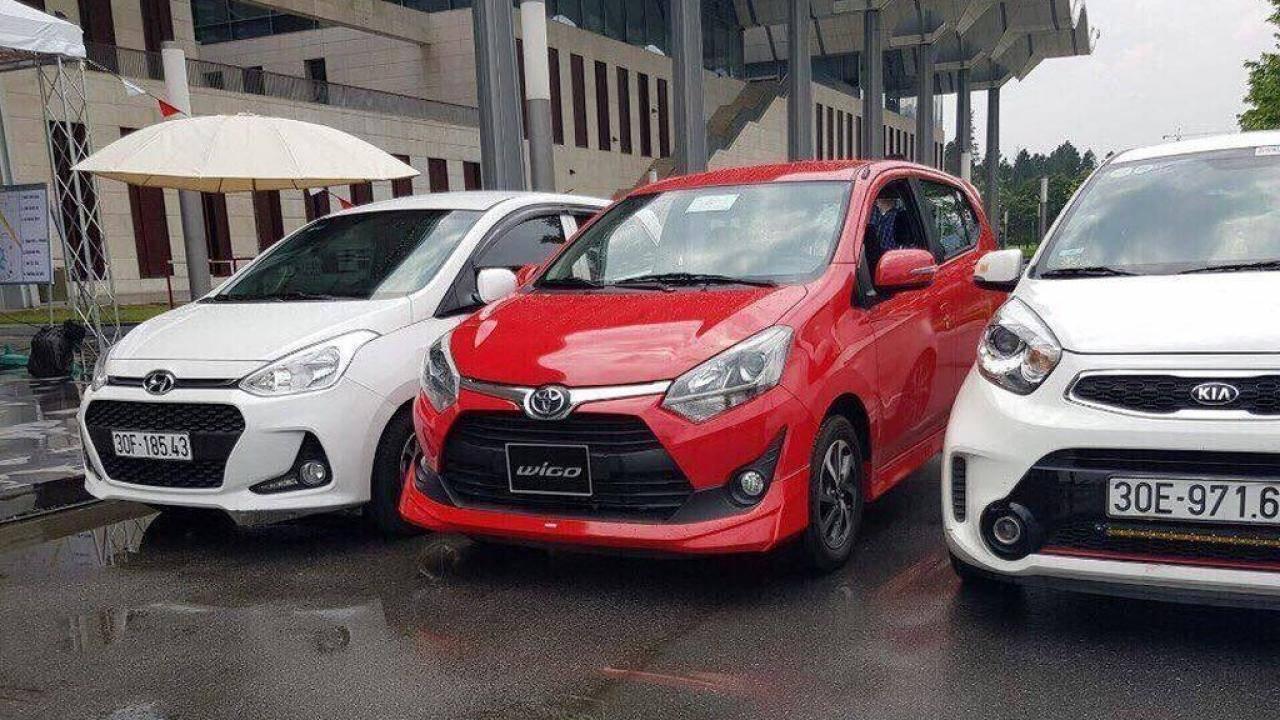 Ô tô giá rẻ,Toyota Wigo,Kia Morning,Hyundai Grand i10,Chevrolet Spark