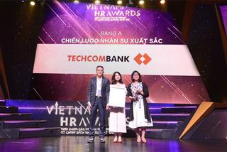 Techcombank thắng lớn tại Vietnam HR Awards 2018