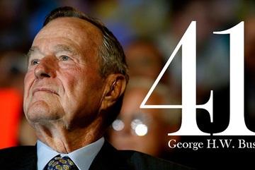 Những dấu mốc quan trọng trong cuộc đời Bush 'cha'