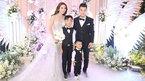 Con chung, con riêng rạng rỡ trong đám cưới Ưng Hoàng Phúc - Kim Cương