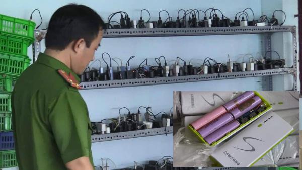 Hàng ngàn cục pin dự phòng giả: Hàng cũ 'phù phép' thành hàng hiệu