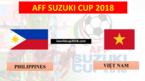 Xem trực tiếp bán kết AFF Cup Việt Nam vs Philippines ở đâu?