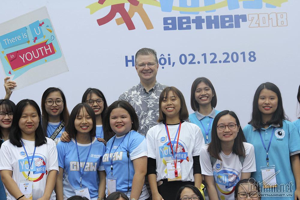 người khuyết tật,người khiếm thị,đại sứ Mỹ,Hồ Hoàn Kiếm,Hà Nội