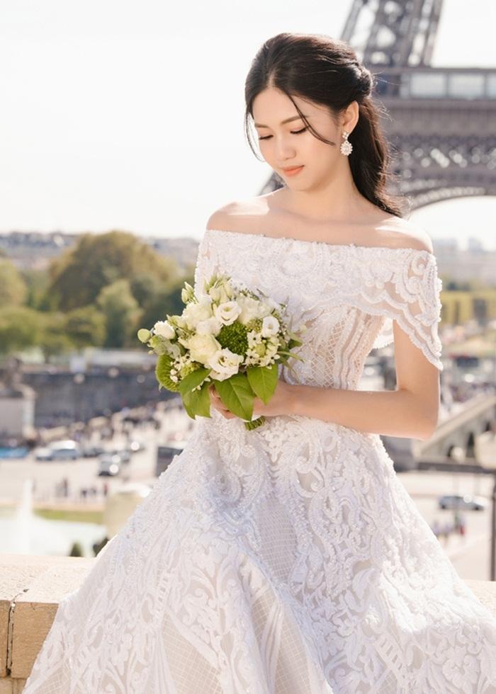 Ảnh cưới tại Paris của Á hậu Thanh Tú và đại gia hơn 16 tuổi - ảnh 6