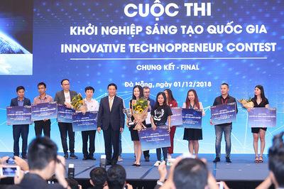 Quán quân cuộc thi khởi nghiệp sáng tạo giành vé tham quan Silicon Valley