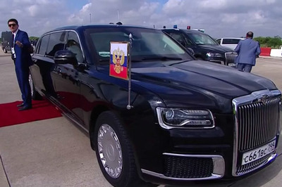 Cận cảnh siêu xe gây sốt của Putin tại thượng đỉnh G20