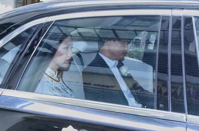 Dàn xe sang 60 tỷ trong đám cưới Á hậu Thanh Tú