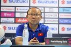 """HLV Park Hang Seo: """"Tuyển Việt Nam không phải là đội bóng hoàn hảo"""""""