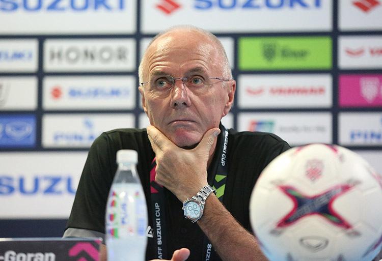 """HLV Eriksson: """"Philippines còn trận lượt về, chờ xem!"""""""