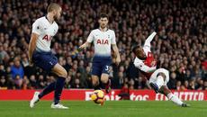 Arsenal hạ gục Tottenham sau màn rượt đuổi siêu hấp dẫn