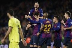 """Messi kiến tạo, Barca cho Real Madrid """"ngửi khói"""""""