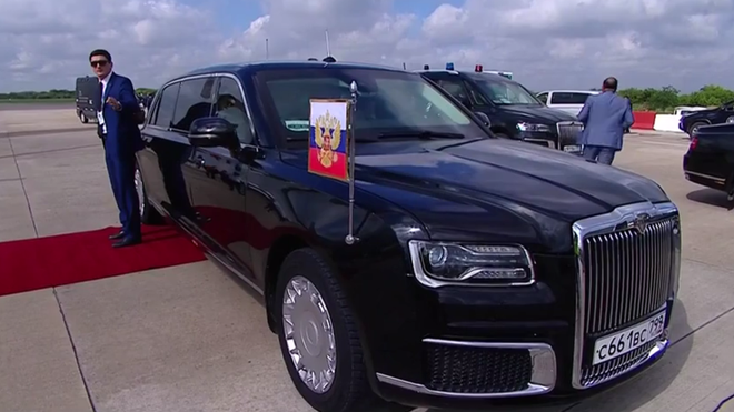 G20: Ông Putin tranh thủ quảng cáo siêu phẩm 'nhà làm' khiến mọi người đều trầm trồ