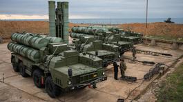 Hé lộ vị trí Nga cài 'rồng lửa' S-400 ở Crưm