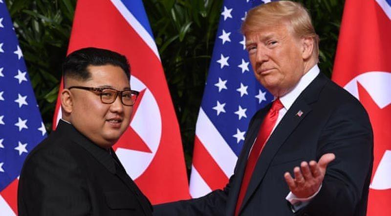 Ông Trump 'nhắn nhủ' Kim Jong Un