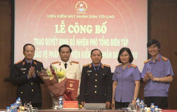 Bộ TN&MT, VKSND Tối cao tiếp nhận, bổ nhiệm nhân sự