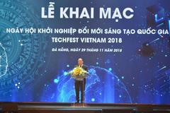 Sôi động ngày hội khởi nghiệp Techfest Việt Nam 2018