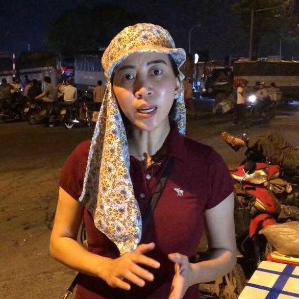 nhà báo,bảo kê,Long Biên,nữ phóng viên