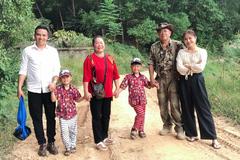 MC Hoàng Linh cùng chồng về quê ngoại sau lùm xùm rạn nứt