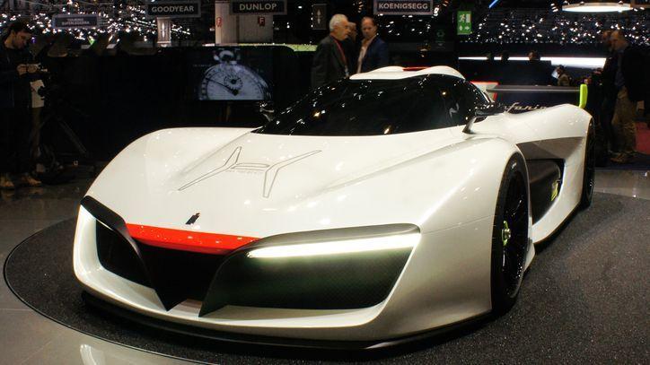 Công ty thiết kế xe cho Vinfast ra mắt ô tô chạy điện