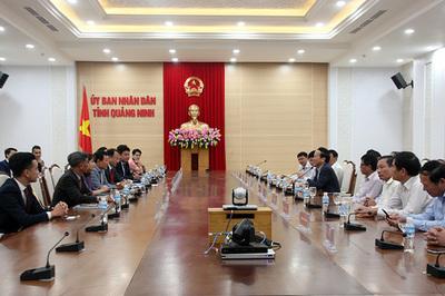 Quảng Ninh hút các nhà đầu tư Đông Bắc Á