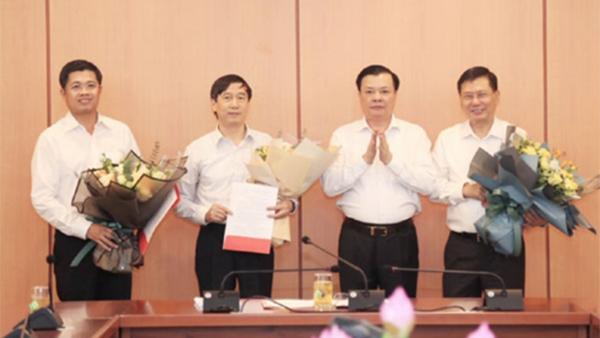 Bộ Tài chính bổ nhiệm 2 nhân sự mới