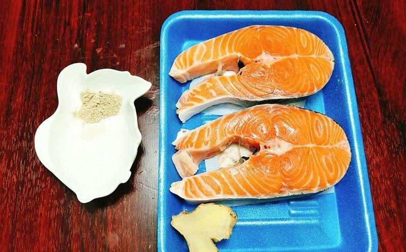Hướng dẫn làm ruốc cá hồi thơm ngon dành cho các bé