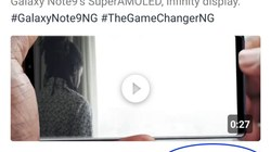 Samsung dùng iPhone để đăng thông điệp lên Twitter