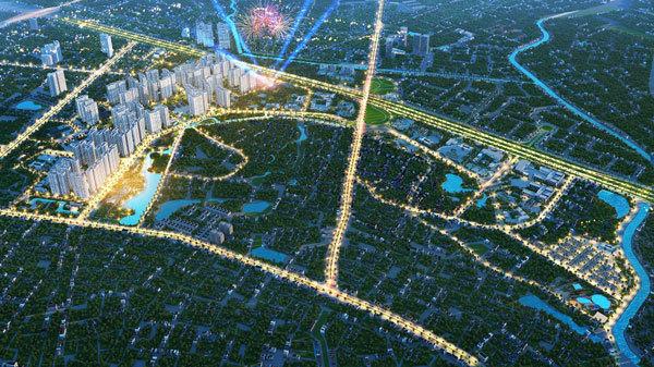 thành phố thể thao,Đại lộ Thăng Long