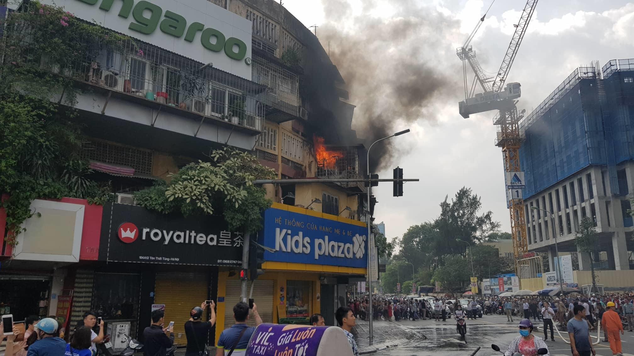 cháy nhà,cháy lớn,Hà Nội