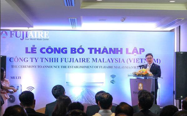 Điều hòa Fujiaire Malaysia ra mắt công ty ở Việt Nam