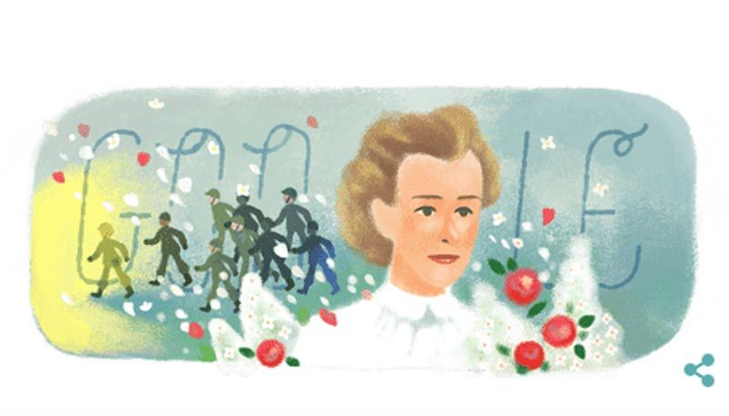 Edith Cavell,nữ y tá,nữ anh hùng,Thế chiến 1