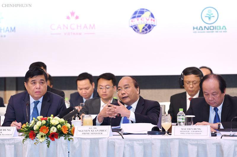 Thủ tướng Nguyễn Xuân Phúc,VBF 2018,Vũ Tiến Lộc,FDI,VBF
