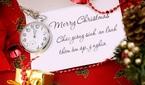Những lời chúc Giáng sinh 2018 ý nghĩa tặng người thân