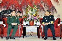 Đoàn cán bộ chính trị cấp cao QĐND Việt Nam thăm Trung Quốc