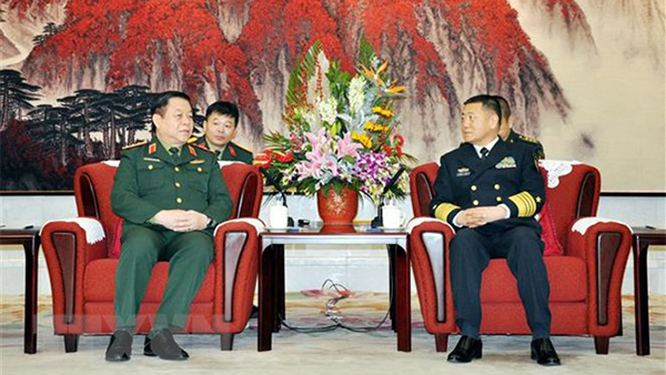 quân đội Việt Nam,Trung Quốc,Bộ Quốc Phòng