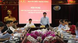 Trình Bộ Chính trị dự thảo về sàng lọc đảng viên trong tháng 12